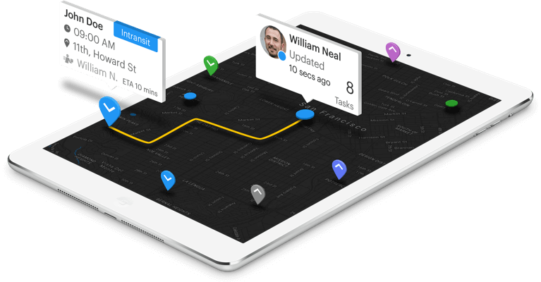 Isometric-On-Demand Delivery Management Software - Tookan